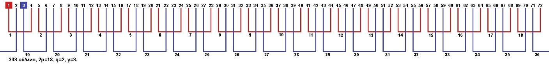 Схема соединения обмоток электродвигателя справочник 129